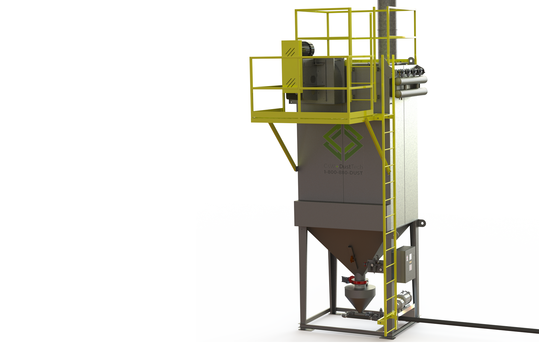 aggregates dust collector